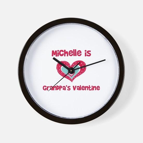 Michelle is Grandpa's Valenti Wall Clock