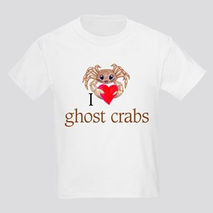 I heart ghost crabs Kids Light T-Shirt