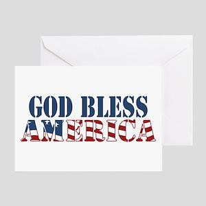 God bless america greeting cards cafepress god bless america greeting card m4hsunfo