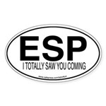 ESP Oval Sticker