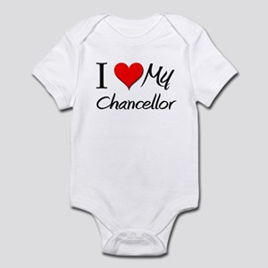 I Heart My Chancellor Infant Bodysuit