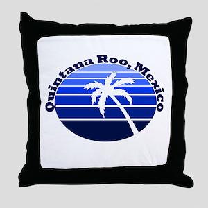 Quintana Roo, Mexico Throw Pillow
