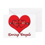 The Mason/OES Valentine Greeting Cards (Pk of 10)