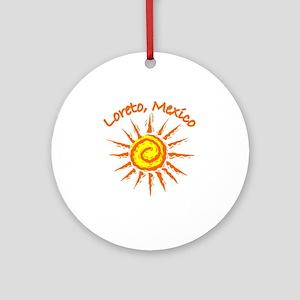 Loreto, Mexico Ornament (Round)