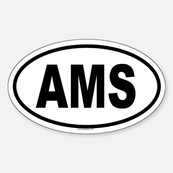 AMS Oval Decal