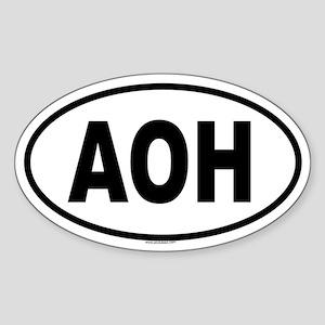 AOH Oval Sticker