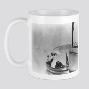 Lady in a Dinghy Mug