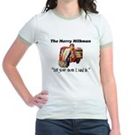 The Milkman Says Hi to Your Mom Jr. Ringer T-Shirt