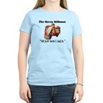The Milkman Says Hi to Your Mom Women's Pink T-Shi