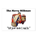 The Milkman Says Hi to Your Mom Postcards (Package