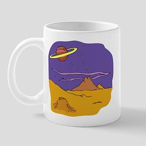 Alien Landscape Mug