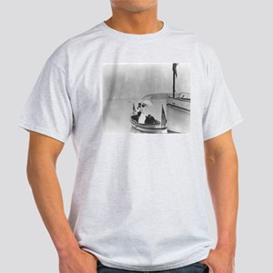 Lady in a Dinghy Ash Grey T-Shirt