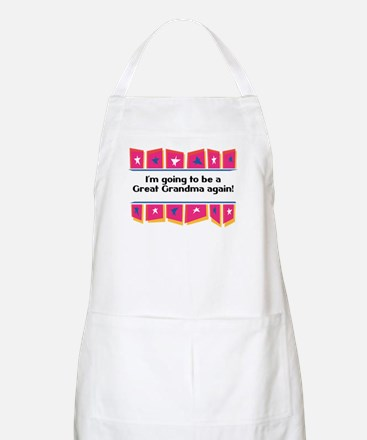 Going to be a Great Grandma Again! BBQ Apron