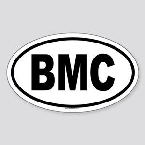 BMC Oval Sticker