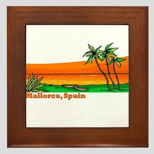 Mallorca, Spain Framed Tile