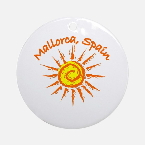 Mallorca, Spain Ornament (Round)
