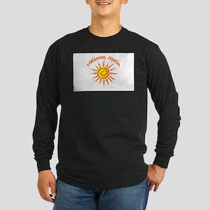 Mallorca, Spain Long Sleeve Dark T-Shirt
