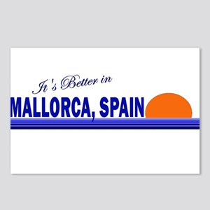 Its Better in Mallorca, Spain Postcards (Package o