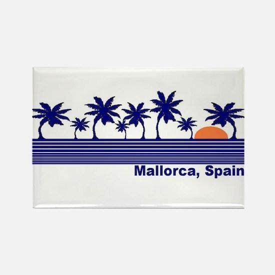 Mallorca, Spain Rectangle Magnet