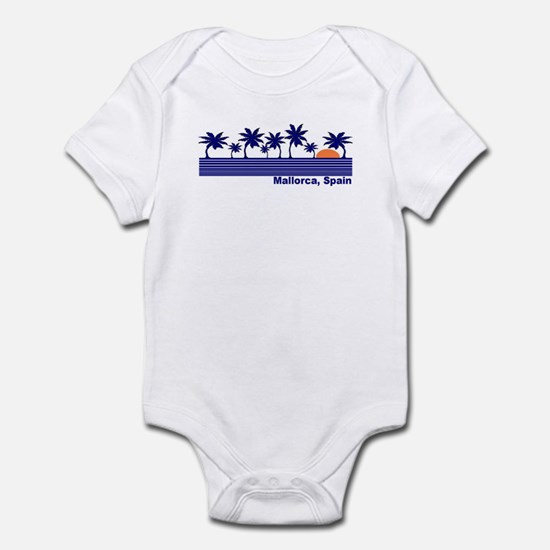 Mallorca, Spain Infant Bodysuit