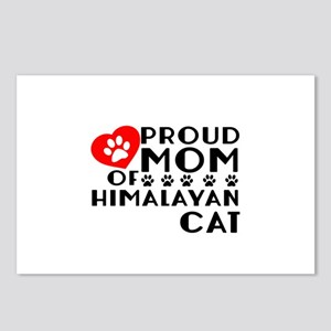Proud Mom of Himalayan Ca Postcards (Package of 8)