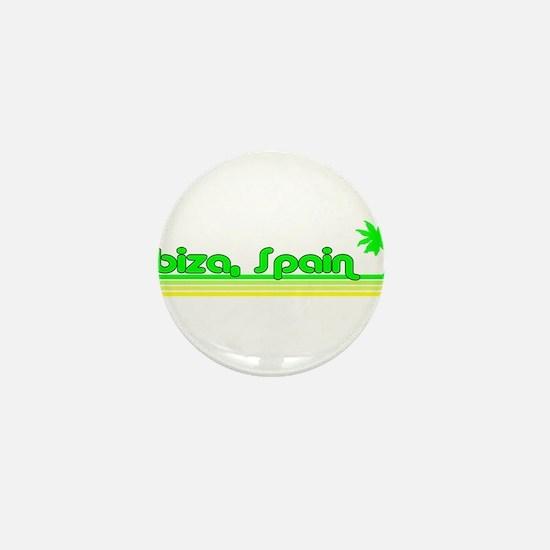 Ibiza, Spain Mini Button
