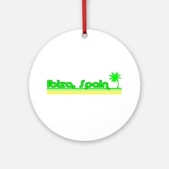 Ibiza, Spain Ornament (Round)