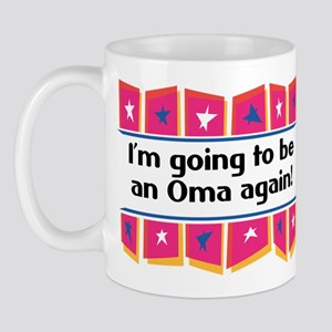 I'm Going to be an Oma Again! Mug