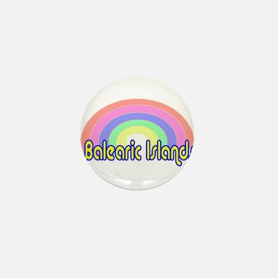 Balearic Islands Mini Button