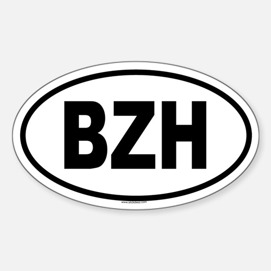 BZH Oval Decal