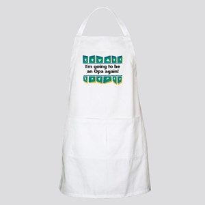 I'm Going to be an Opa Again! BBQ Apron