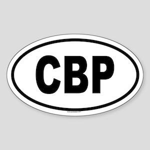 CBP Oval Sticker