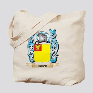 Jakob Coat of Arms - Family Crest Tote Bag