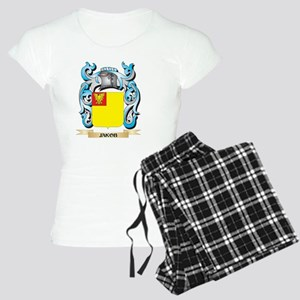 Jakob Coat of Arms - Family Crest Pajamas