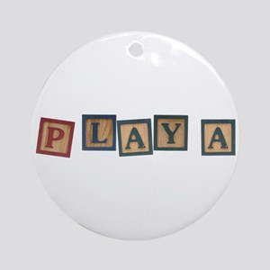 Playa Ornament (Round)