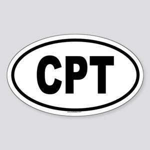 CPT Oval Sticker