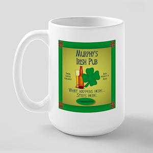 Murphy's Irish Pub Large Mug