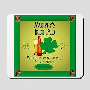 Murphy's Irish Pub Mousepad