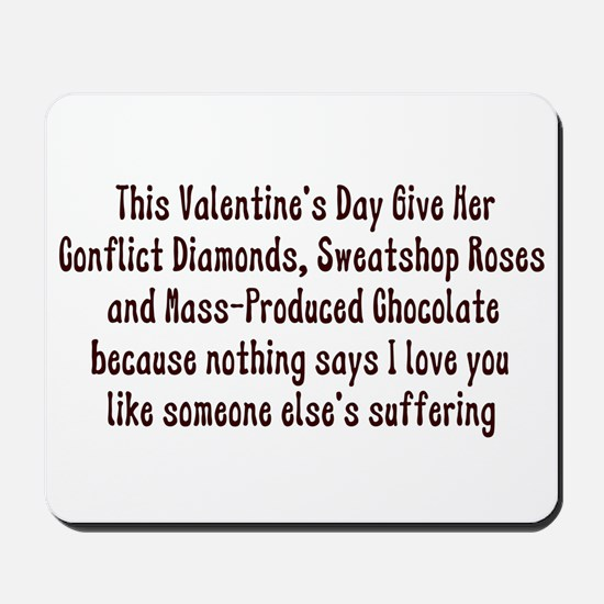 Anti-Valentine Mousepad