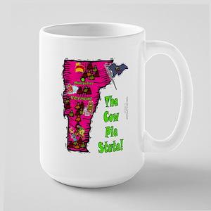 VT-Cow Pie! Large Mug