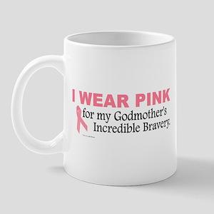 Pink For My Godmother's Bravery 1 Mug