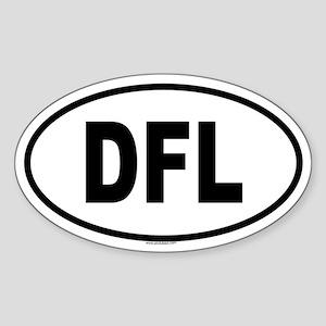 DFL Oval Sticker