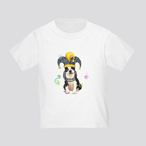 Party Boston Terrier Toddler T-Shirt