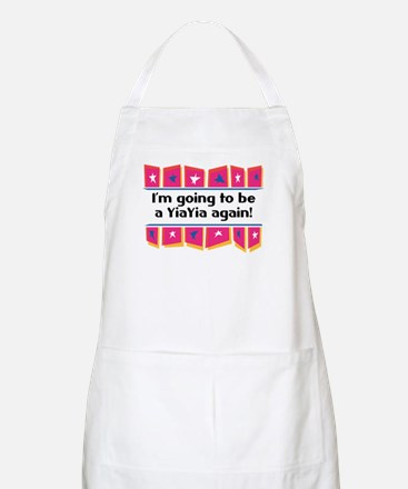 I'm Going to be a YiaYia Again! BBQ Apron
