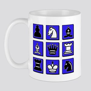 Chess Collage Mug