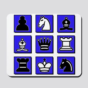 Chess Collage Mousepad