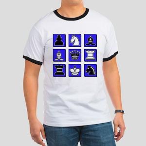 Chess Collage Ringer T