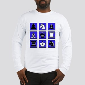 Chess Collage Long Sleeve T-Shirt