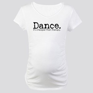 Dance Therapy Maternity T-Shirt