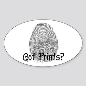 Got Prints? Big Oval Sticker